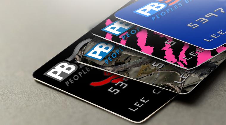 peoples bank debit cards