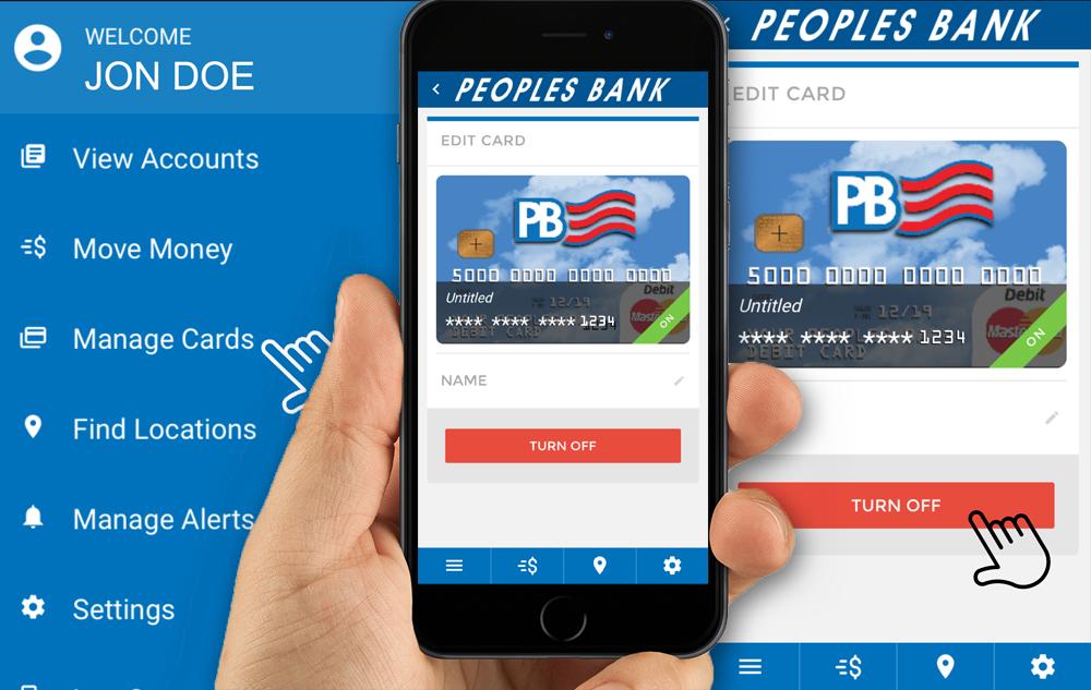 Debit Card On/Off